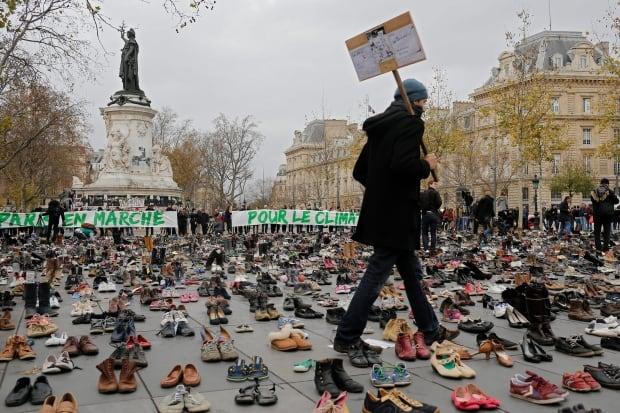 APTOPIX France Climate Countdown