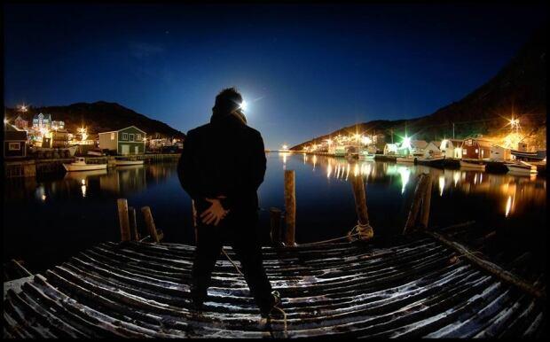 Petty Harbour fisheye
