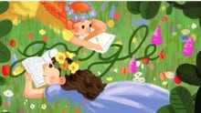 Lucy Maud Montgomery Google Doodle