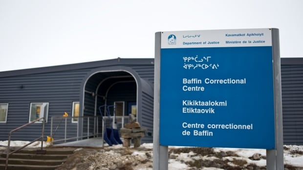 Nunavut's Justice Department says 38 per cent of its correctional staff are Inuit.