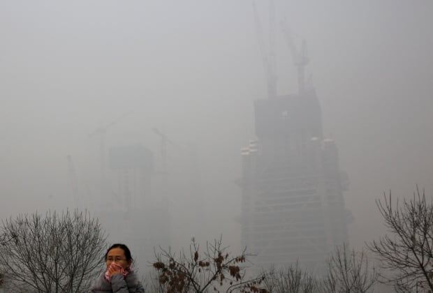 APTOPIX China Pollution