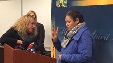 Carol Wolfe speaks about Karina Wolfe