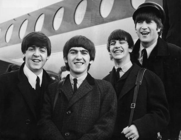 The Beatles Adele album sales record