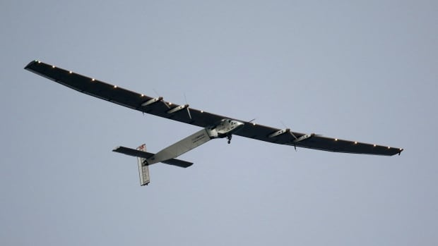 The Solar Impulse 2, which landed at Kalaeloa airport in July, has 17,248 solar cells, a wide wing-span than a Boeing 747 and weighs as much as a five-seater family car.