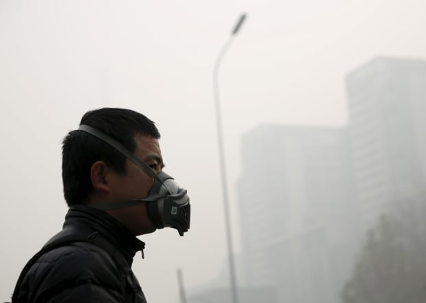 Beijing bad air quality Nov 30 2015 heavy pollution during Paris talks