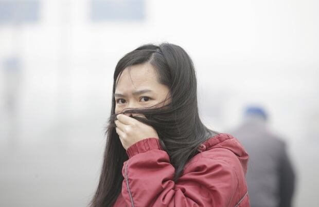 Beijing bad air quality Nov 30 2015 CHINA-SMOG