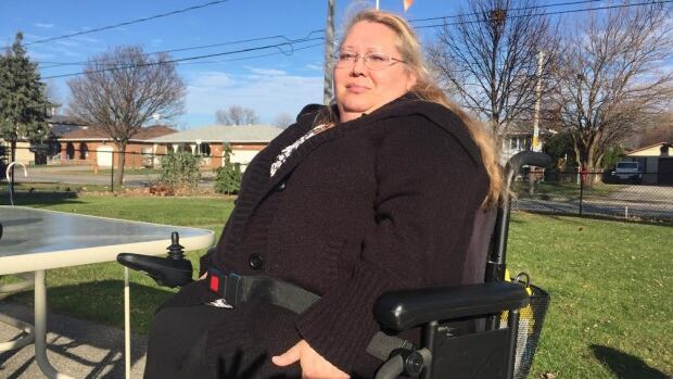 Daphne LaCount, says she was denied service on a Transit Windsor bus because strollers took up designated wheelchair space.
