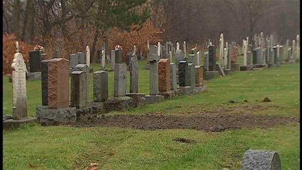 Quebec City's Saint-Charles cemetery.