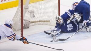 Garret Sparks has historic debut with Maple Leafs