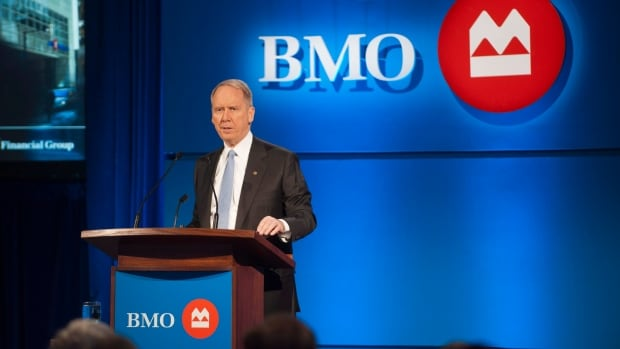 Bank of Montreal President and CEO Bill Downe says the bank is stress testing its broader loan portfolios — which includes consumer mortgages, credit cards and auto loans — for an average of $35 a barrel over the course of the year.