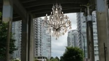 Rodney Graham chandelier lead image
