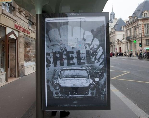 Shell Brandalism ad