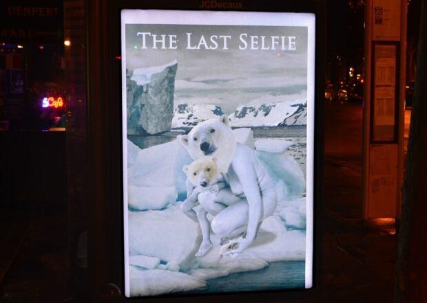 Brandalism last selfie