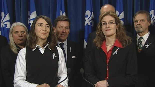 Nathalie Provost and Heidi Rathjen, who survived the 1989 Polytechnique massacre in Montreal, called Bill 64 a welcome step in their ongoing fight for stricter control measures in Quebec and across Canada.