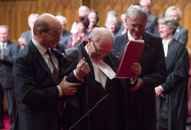 Senate Speaker George Furey