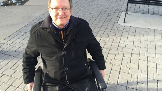Dave Smith, president of the Calgary Construction Association, spent a morning trying to get around the city in a wheelchair to get a first-hand look at the challenges people with disabilities face.