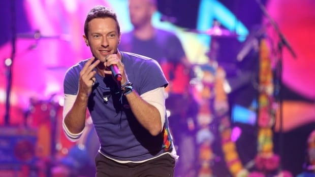 Chris Martin of Coldplay, seen here in November 2015, will perform at the Pepsi Super Bowl 50 Halftime Show on CBS Sunday.
