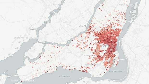 The majority of Airbnb listing in Montreal are in the Plateau Mont-Royal and Ville-Marie boroughs.