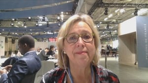 Elizabeth May climate talks