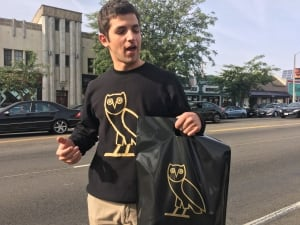 Drake fan waits in shopping line for 12 hours