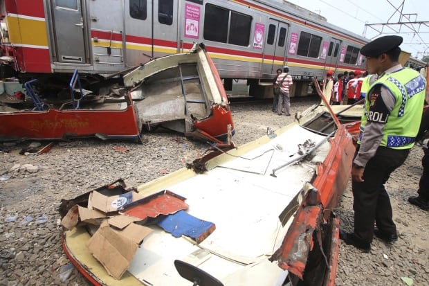 INDONESIA-TRAIN/ACCIDENT