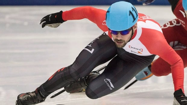 """Canadian short-track speed skater Francois Hamelin won his first-ever gold medal in an individual World Cup event, defeating Russia's Artem Kozlov and China's Chen Guang in the men's 500-metre race on Sunday in Nagoya, Japan. """"It was a perfect day,"""" Hamelin said in a statement released by Speed Skating Canada. """"It's not often I can say that, but it was the case for all my races today."""""""