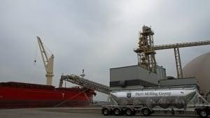 Hamilton Port Authority Pier 10 flour mill