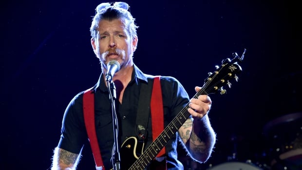 Eagles of Death Metal singer Jesse Hughes was playing when gunmen stormed the Bataclan theatre on Nov. 13.