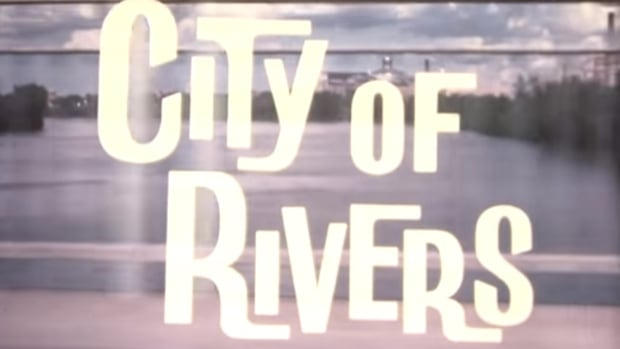 The City of Rivers tourism film was put out in 1964 by the Manitoba Department of Industry and Commerce.