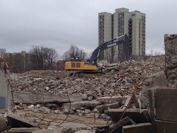St. Patrick's High School demolition