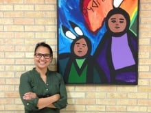 Saskatoon Cree teacher Belinda Daniels is on the short list for a global award worth $1 million, for her dedication in passing on the language.