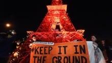 Paris climate conference COP21 protest Dec 9 2015
