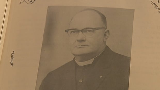 Photo of Father Camille Leger who is accused of sexual abuse while he was serving in the Diocese of Moncton.