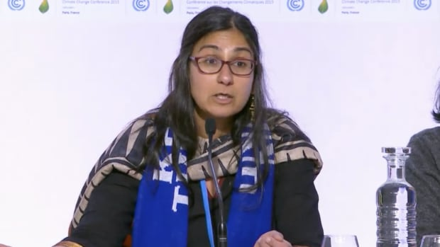 Payal Parekh with 350.org at COP21