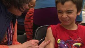 Vaccination, needles