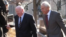Mike Duffy and Donald Bayne