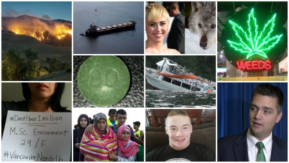 B.C. Top Story 2015 collage