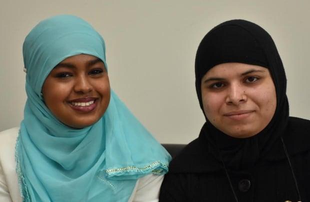 Hoden Ahmed and Robina Mohammadadam