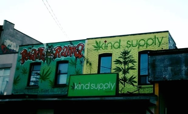 The exterior of Kind Supply