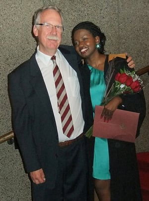 Don Smith and Lilian Asiimwe