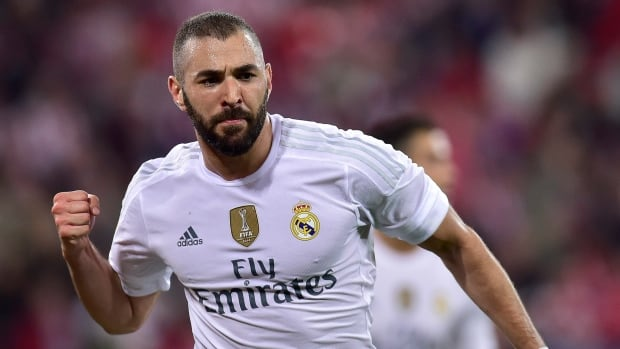 Striker Karim Benzema has been suspended indefinitely by the French national soccer team after being charged with conspiracy to blackmail, relating to an extortion scam over a sex tape featuring French teammate Mathieu Valbuena, right. Benzema, who denies wrongdoing, is suspected of playing an active role in pressuring Valbuena to deal with the blackmailers in possession of the tape.