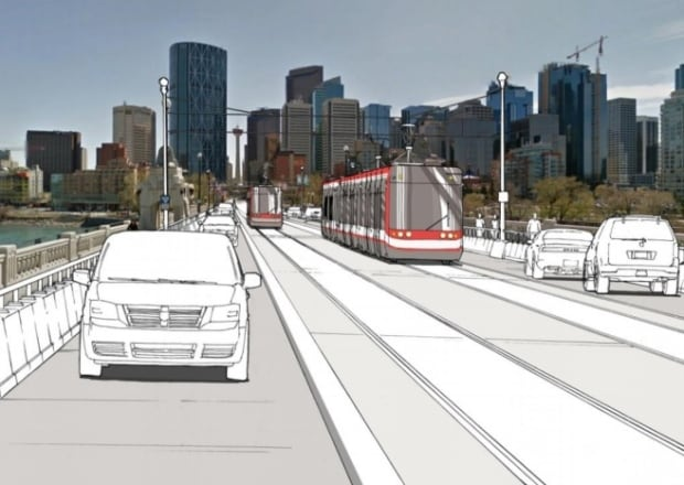 Calgary Transit Green Line option