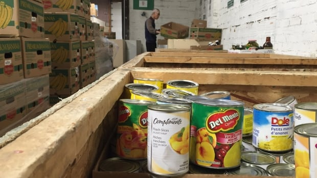 Demand for the food bank increases during economic downturns.