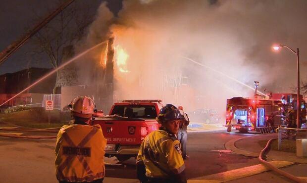 Brampton apartment fire