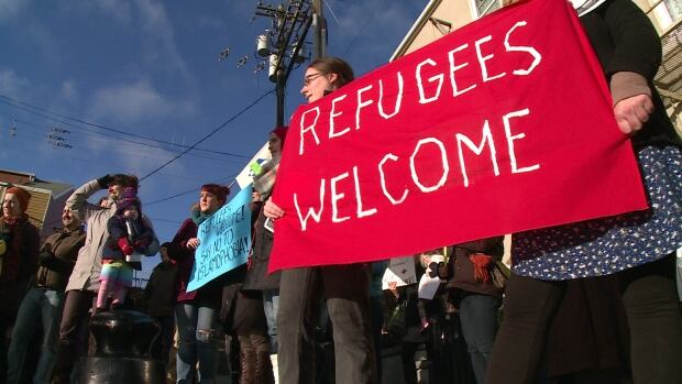 Refugees welcome rally downtown St. John's