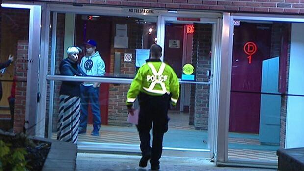 A man was shot Sunday night near a lowrise apartment building on Arrowsmith Drive, off Jasmine Crescent.