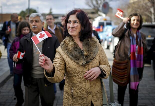 2015 year in photos Syrians arrive in Toronto Dec 11