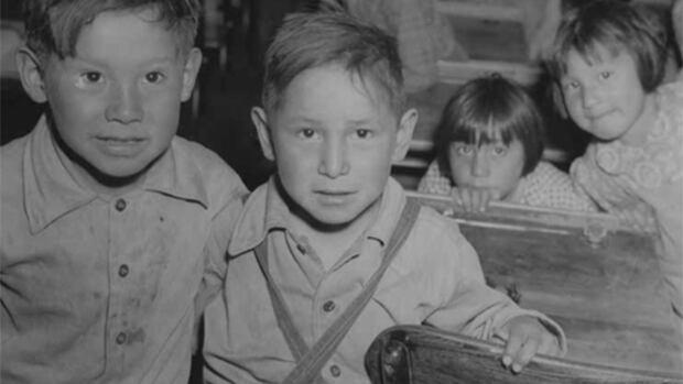Alberta residential school children