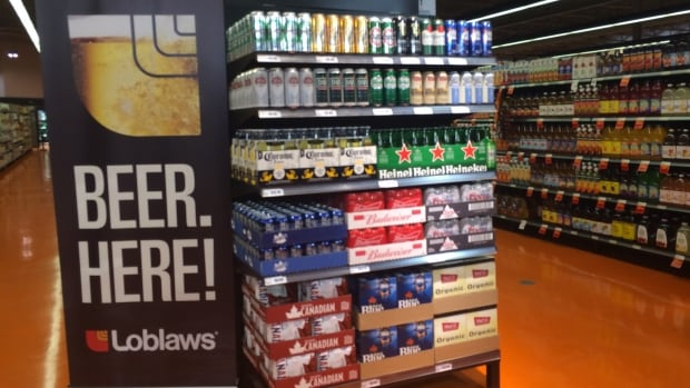 The Ontario government has chosen the first 13 grocers that will sell beer, perhaps starting as early as December.