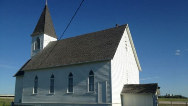 Hope Christian Reformed Church, located on the northwest corner of Highway 16 and Highway 779, was built in 1912.